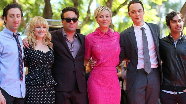 Foto actores Big Bang Theory