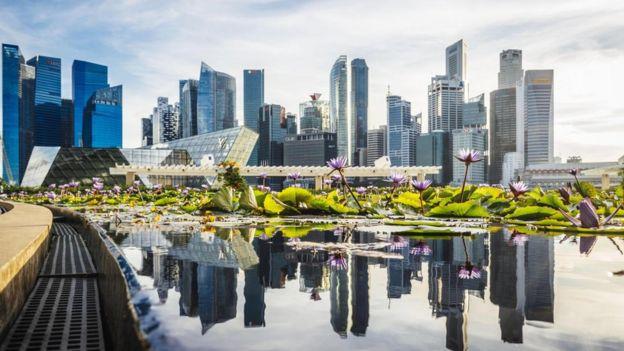 Una vista de Singapur