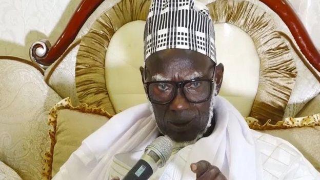 Serigne Mountakha Mbacké, chef de l'une des plus influentes confréries musulmanes du Sénégal.