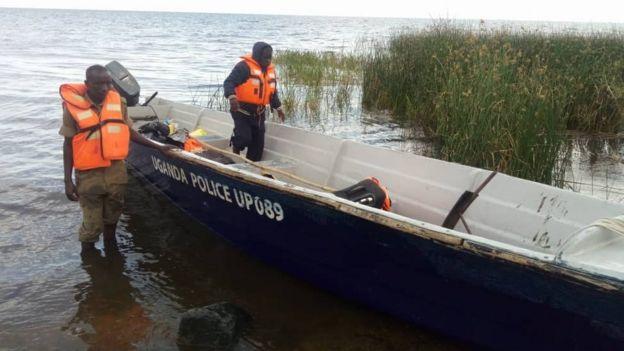 Uganda marine police