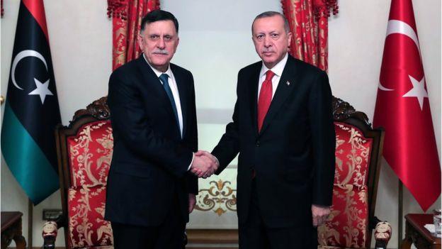 Al-Saraj 27 Kasım'da Cumhurbaşkanı Erdoğan'la İstanbul'da görüşmüştü