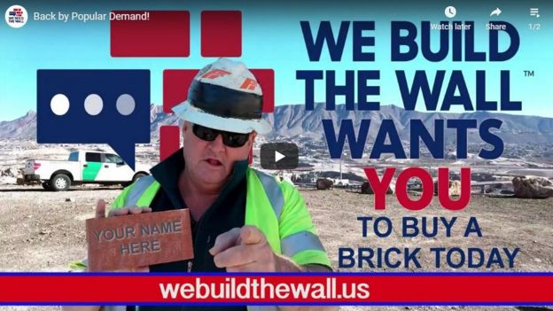 image from We Build the Wall website