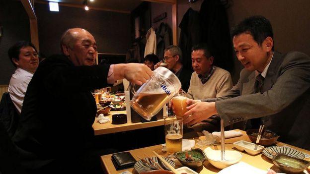 Un bar en Japón.