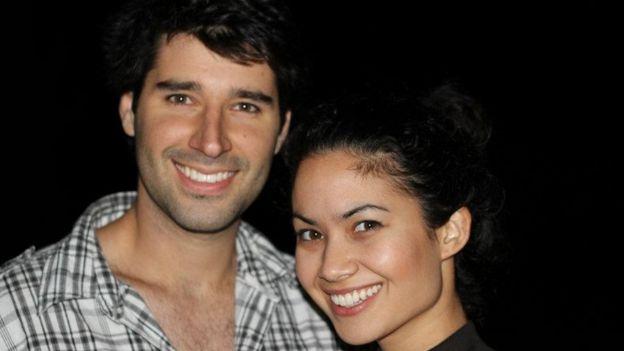 Chris Obrecht y Melanie Perkin.