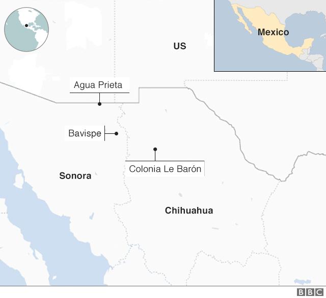 Mexico ambush: Boy, 13, walked 23km for help after gun ...