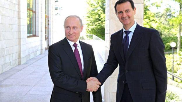 بشار اسد گفته است روسیه تصمیم گیرنده اصلی در کشورش نیست و