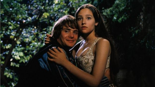 Still from the 1968 film 'Romeo and Juliet'