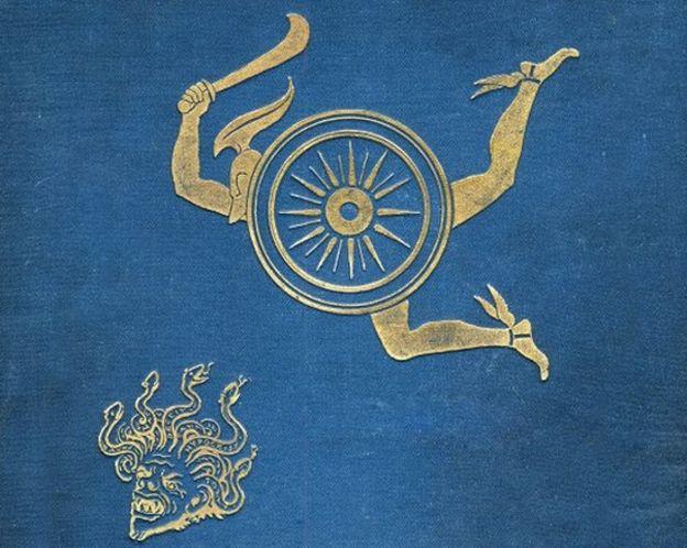 Arte antiguo representa a Perseo cortando la cabeza de Medusa