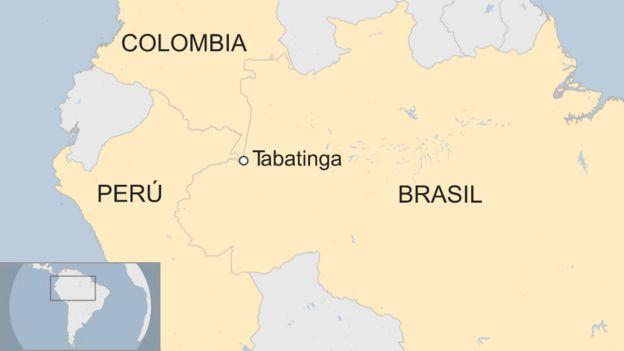 Un mapa muestra dónde quedará la base militar temporal.