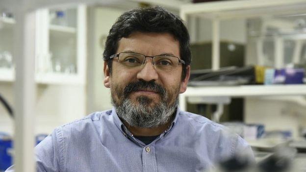 Mauricio Moraga, del grupo Chile Genómico de la Universidad de Chile y otro de los coautores del estudio