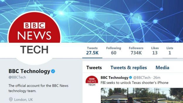 BBC News Technology on Twitter