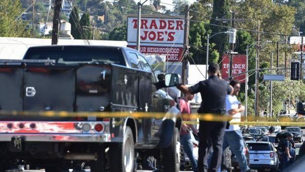 پلیس لسآنجلس مظنون به گروگانگیری را بازداشت کرد