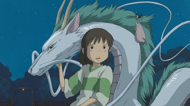 Image from the 2001 film Spirited Away