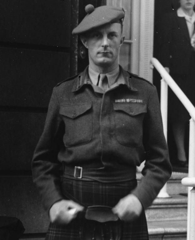 Fitzroy Maclean en 1943