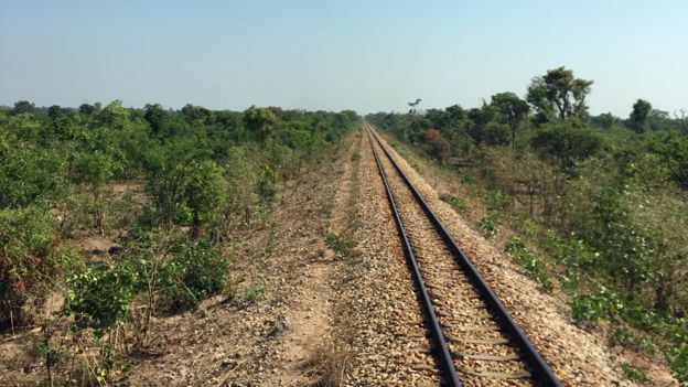 The Tazara train track