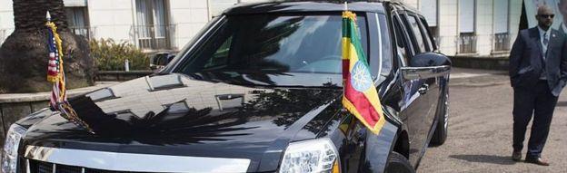 US diplomatic car