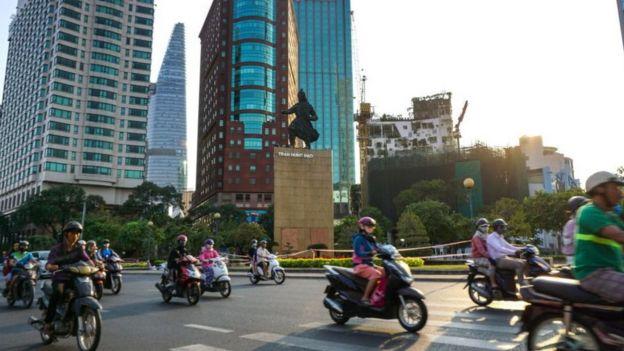 Thành phố Hồ Chí Minh ngày nay