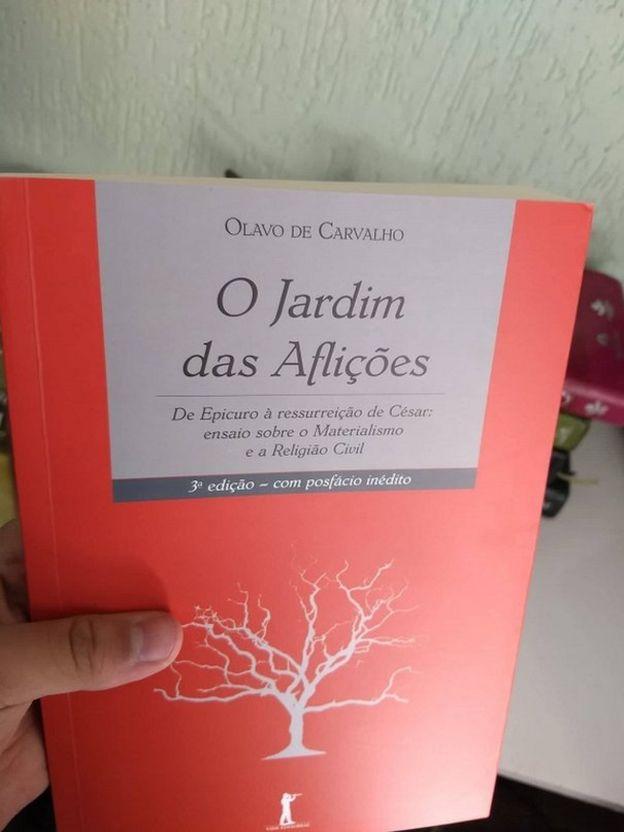 Livro O Jardim das Aflições,