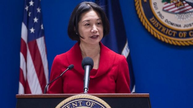 Công tố viên Liên bang Jessie Liu