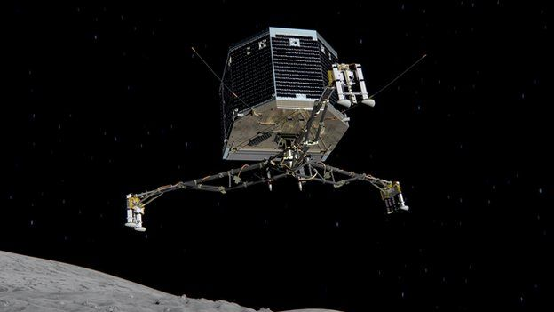 Philae comet lander falls silent