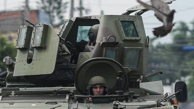 Militares no Rio de Janeiro