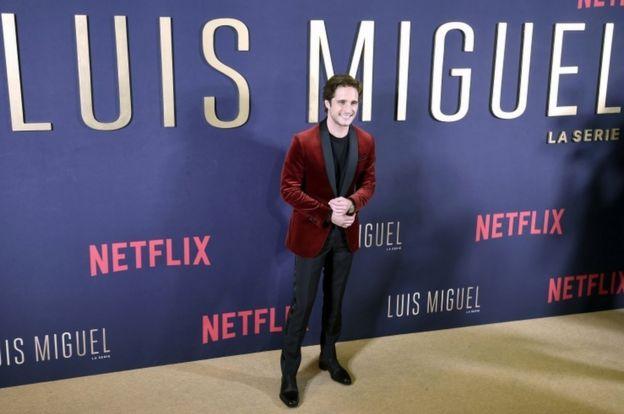 El actor de la serie, Diego Boneta.
