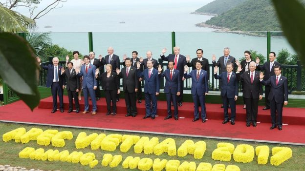 Lãnh đạo các nước dự hội nghị APEC tại Đà Nẵng