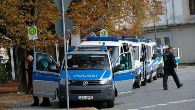 Köthen'de polisin soruşturması sürüyor.