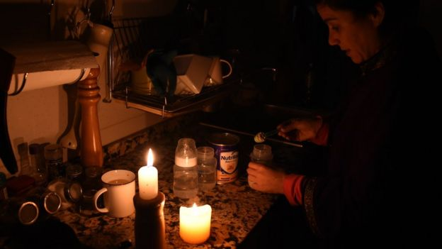Argentina and Uruguay reel after massive power outage - BBC News
