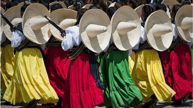 Soldadas mexicanas