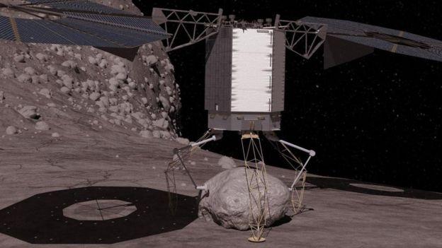 NASA robotlu uzay aracı