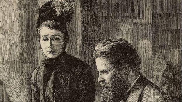 آن بلانت وزوجها ويلفريد