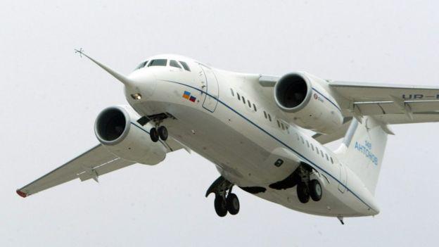 Antonov 148 tipi yolcu uçağı (ARŞİV)