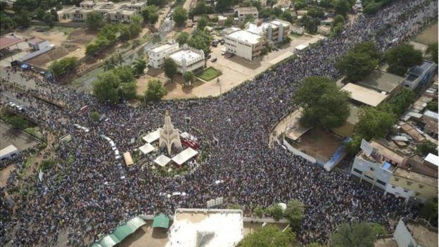 Pendant plus de quatre mois le M5-RFP a mené la contestation pour la démission du président Keita