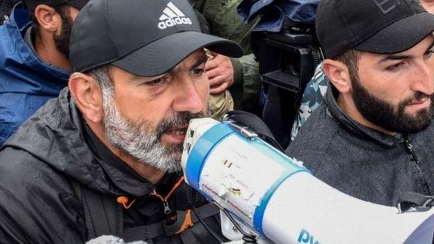 Демонстрация в Еереване