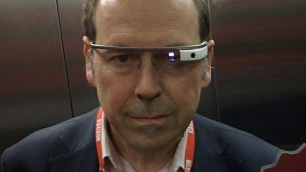fff09606aa Google Glass smart eyewear returns - BBC News