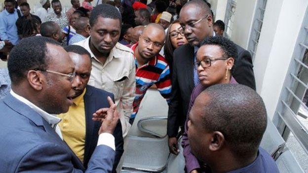 Viongozi wa Chadema walianza kujitetea tarehe 17 mwezi Septemba