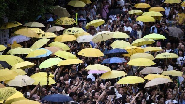 2014年的雨伞运动