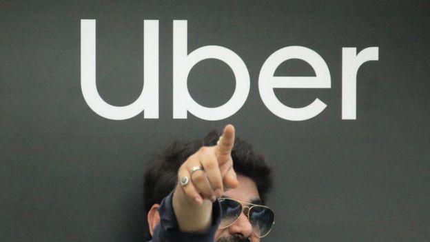 Logo de Uber