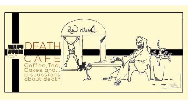 Ilustración de los Cafés de la Muerte