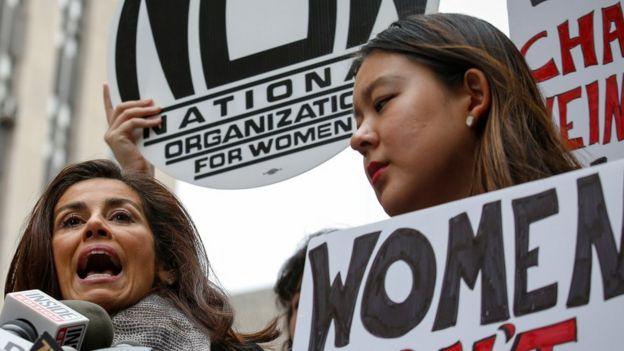 Concentración de mujeres en Nueva York