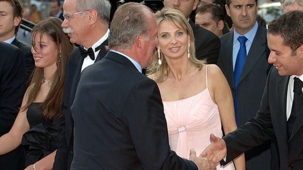 King Juan Carlos and Corinna zu Sayn-Wittgenstein in 2006