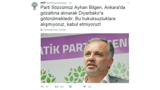 HDP Twitter