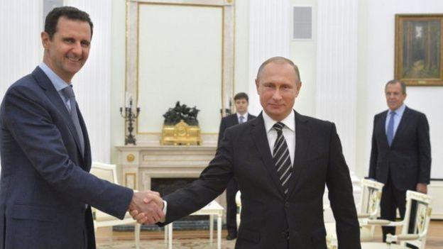 Putin em encontro na Rússia