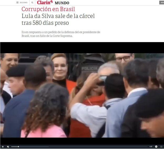Lula sai da prisão