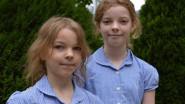 Ella ve Caitlin McEwan