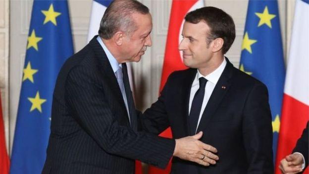 Erdoğan ve Macron
