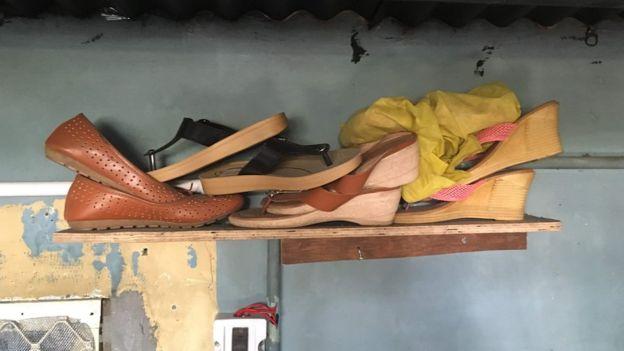 सेक्स वर्कर के जूते