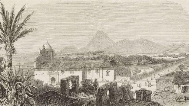 Grabado de León Viejo