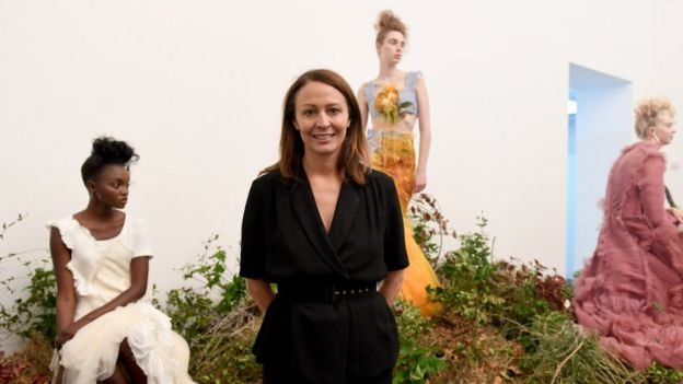 Caroline Rush from the British Fashion Council